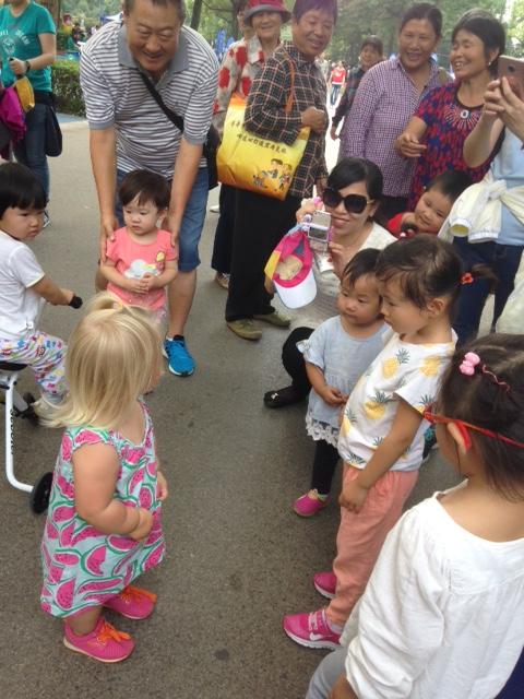 Lapsia Kiinassa